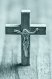 Wooden Christian cross Royalty Free Stock Images
