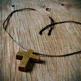 Wooden Christian cross Royalty Free Stock Photo