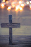 Wooden Christian Cross Royalty Free Stock Image