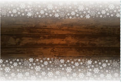 Wooden christmas background Stock Images