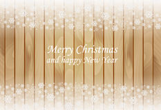 Wooden christmas background Royalty Free Stock Image