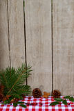 Wooden Christmas Decoration Royalty Free Stock Photos