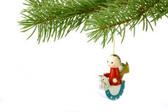 Wooden Christmas Toy Royalty Free Stock Photography