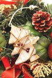 Wooden christmas tree Stock Image