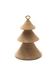Wooden Christmas trees Royalty Free Stock Photo