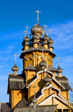 Wooden chruch Royalty Free Stock Image