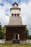 Wooden chruch in petajavesi Unesco Royalty Free Stock Images