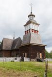 Wooden chruch in petajavesi Unesco Stock Photo