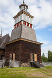 Wooden chruch in petajavesi Unesco Royalty Free Stock Photography