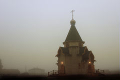 Wooden church Royalty Free Stock Images