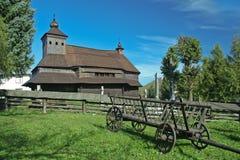 Wooden church Stock Photos