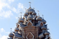 Wooden church Stock Images