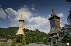Wooden church Royalty Free Stock Image