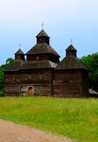 The wooden church Stock Photography