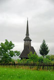 Wooden church. Historic Wooden Church in Romania Royalty Free Stock Photography