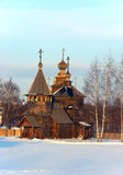Wooden church Stock Photo