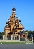 Wooden church. Royalty Free Stock Photography