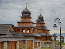 Wooden church. Stock Images