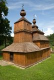 Wooden church in Bodružal Stock Photography