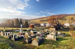 Wooden church, Bodruzal, Slovakia Royalty Free Stock Images