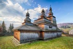 Wooden church, Bodruzal, Slovakia Royalty Free Stock Photo