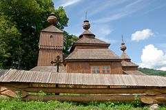 Wooden church in Bodruzal Royalty Free Stock Photography