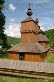 Wooden church in Bodruzal Stock Images