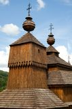 Wooden church in Bodruzal Stock Photos