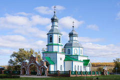 Wooden church. Wooden cristianity churc in Russia Royalty Free Stock Photography