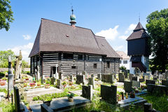 Wooden church, Czech Republic Stock Photo