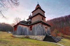 Wooden church, Dobroslava, Slovakia Royalty Free Stock Images