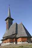 Wooden Church From Behind Stock Photography