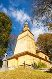 Wooden Church, Hunkovce Stock Photography