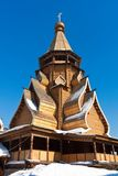 Wooden Church Royalty Free Stock Photography