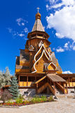 Wooden church in Izmailovo Kremlin - Moscow Russian Stock Photography