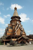 Wooden Church in Izmaylovo Kremlin, Moscow Royalty Free Stock Photography