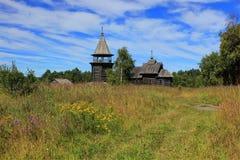Wooden Church, Karelia, Russia Stock Photos