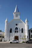 Wooden Church in Key West Royalty Free Stock Images