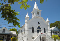 Wooden church in Key West Stock Photo