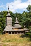 Wooden Church , Kiev, Ukraine Royalty Free Stock Images