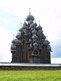 Wooden church in Kizhi Stock Photos