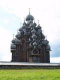 Wooden church in Kizhi Stock Photos