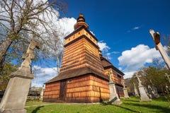 Wooden church in Kotan, Poland Royalty Free Stock Image