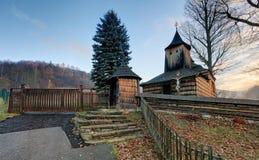 Wooden church, Krajne Cierno, Slovakia Royalty Free Stock Photography
