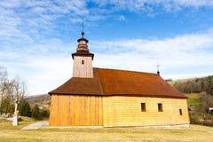 Wooden church, Krive. Wooden church  in Krive, Slovakia Stock Photo
