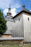 Wooden church in Ladomirova Stock Images