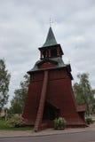 Wooden Church In Malung Stock Photos