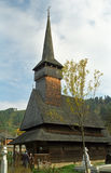 Wooden church in Maramures region, Romania Royalty Free Stock Images