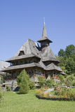 Wooden Church in Maramures, Romania Royalty Free Stock Photo