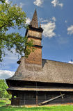 Wooden church, Maramures, Romania Royalty Free Stock Images